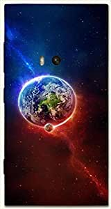 Beautiful multicolor printed protective REBEL mobile back cover for Nokia Lumia 920 D.No.N-L-14342-N920