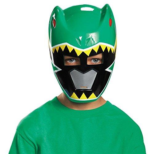 GSG Power Ranger Vacuform Mask Costume Mask Kids Power Rangers Halloween (Teen Green Ranger Bodysuit Costume)