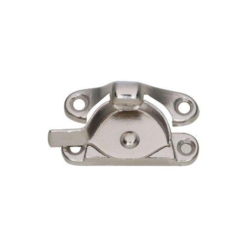 National Hardware N148-767 V600 Sash Lock, Nickel 12 Pack front-757540