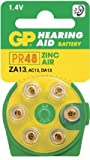 Ukdapper - 1 box 10 cards GP Batteries Zinc Air Hearing Aid Batteries GPZA13-D6 Bulk