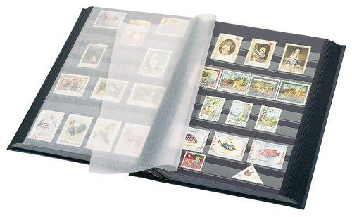 Lindner Stamp Album Stockbook Standard / 48 Black Pages / Black Cover /Acid Free