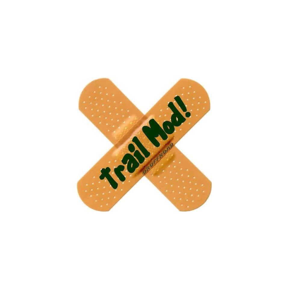 OK Offroad OK BAD001 Trail Mod Band Aid Flag Decal