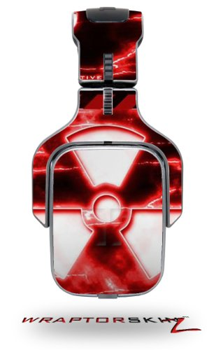 Radioactive Red Decal Style Skin (Fits Tritton Ax Pro Gaming Headphones - Headphones Not Included)