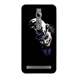 Ajay Enterprises Salute Joke Back Case Cover for Asus Zenfone 2
