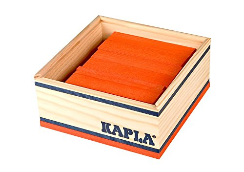Kapla - Carré 40 pièces - ORANGE