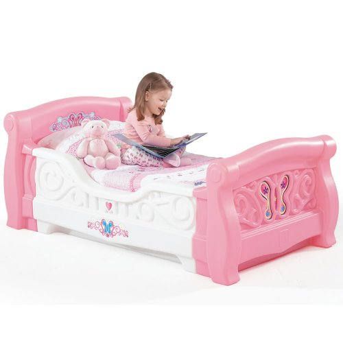 Powell Princess Castle Twin Tent Bunk Bed With Slide Check