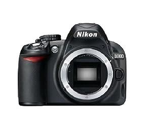 Nikon D3100 Appareil photo numérique Reflex 14 Boîtier nu Noir