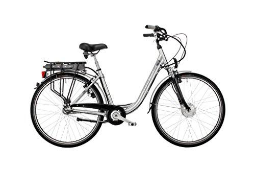 HAWK-Bikes-Green-City-Plus-Wave-E-Bike-Elektrofahrrad-Damenfahrrad-Fahrrad-Damen-City-Pedelec-mit-Aluminiumrahmen-und-Nabenschaltung