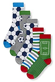 5 Pairs of Football Socks