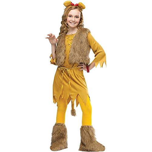 Lion Girl Kids Costume