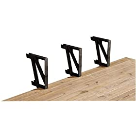 Little Tikes Picnic Table Review Of 2x4basics Deck Bench Brackets 2 Pack