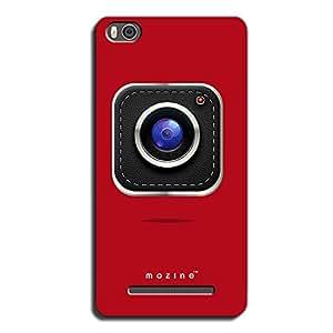Mozine Camera Lover printed mobile back cover for Xiaomi mi4c