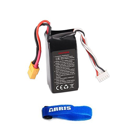4S-148V-1300MAH-40C-Lipo-Battery-for-Walkera-F210-FPV-Racing-Drone-Quadcopter-F210-Z-35-With-ARRIS-Battery-Strap