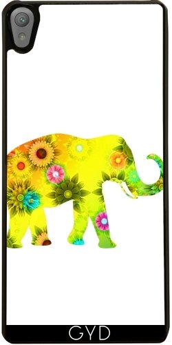 case-for-sony-xperia-e5-colorful-elephant-mammal-style-by-wonderfuldreampicture