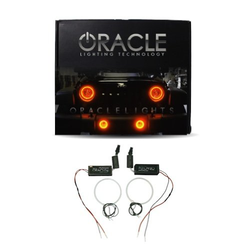 Oracle Lighting CH-CA1013C-A - Chevrolet Camaro CCFL Halo Headlight Rings - Amber (3rd Generation Camaro Accessories compare prices)