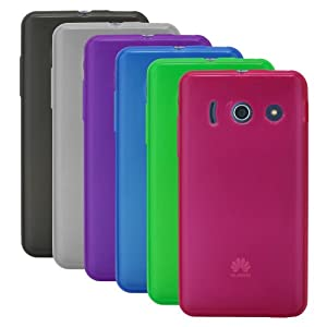 x6 Case Set Schicke Schutzhülle für Huawei Ascend G510 - Super Slim in Transparent von PrimaCase