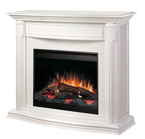 Why Choose The Dimplex Addison DFP69139W Electric Fireplace Mantle with Firebox, White