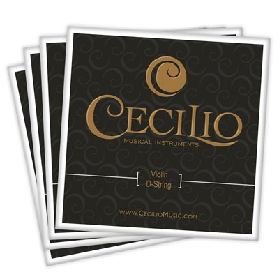 Cecilio Full Set High Quality Violin Strings Size 4/4 & 3/4 Violin Strings, G D A & E (1 Set) (Full Violins compare prices)
