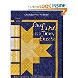 img - for OneLine at a TimeEncore: 33 NewGeometric Machine- Quilting Designs book / textbook / text book