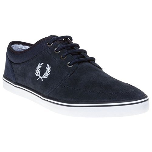 Fred Perry Stratford Suede Uomo Sneaker Blu
