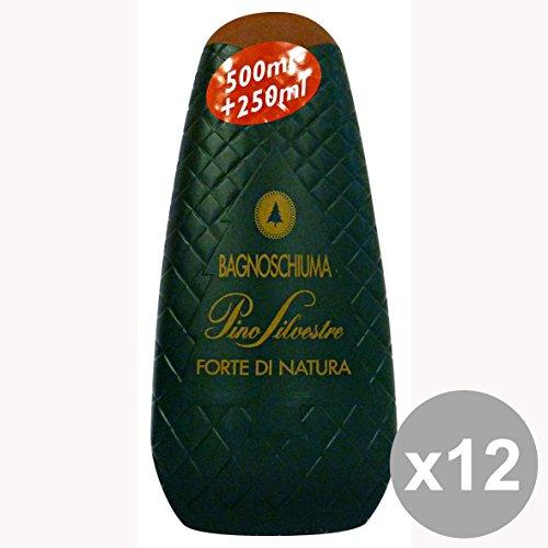 Set di 12 PINO SILVESTRE Bagno CLASSIC 750 Ml. Saponi e cosmetici