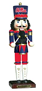 Buy NCAA Mississippi Rebels 14-Inch Nutcracker 6th Edition by The Memory Company