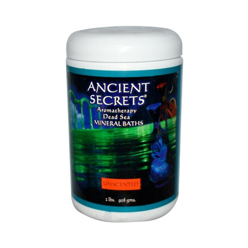 Ancient Secrets - Aromatherapy Dead Sea Mineral Bath Unscented - 2 Lbs. Lucky Deal