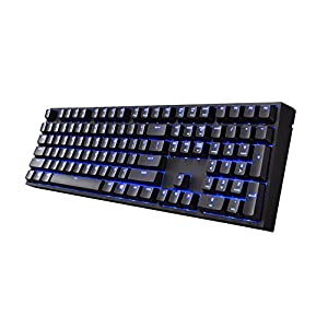 "Cooler Master SGK-4060-KKCM1-UK Quick Fire Xti ""UK Layout, Backlit Mechanical Gaming Keyboard, Cherry MX Brown switches"""