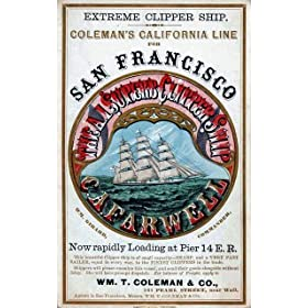 Cafarwell - Coleman's California Line - Midi Metal Wall Sign Retro Art 20cms x 30cms