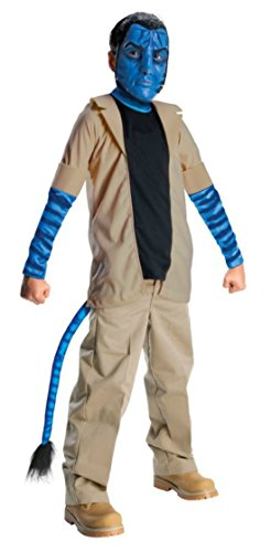 Boys Avatar Jake Sulley Kids Child Fancy Dress Party Halloween Costume