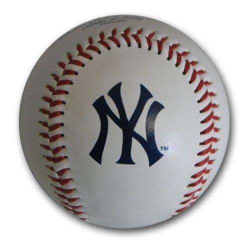 MLB New York Yankees Baseball with Team Logo