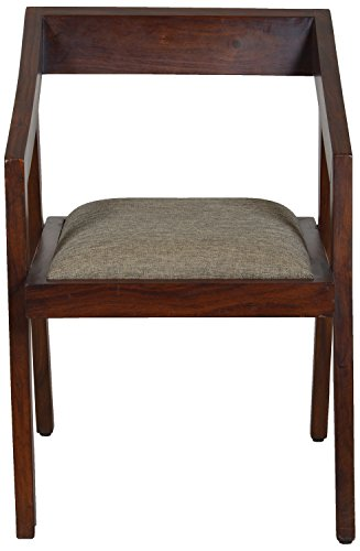 The Village Shop TVSLIV08 Armchair (Melamine Finish, Brown)