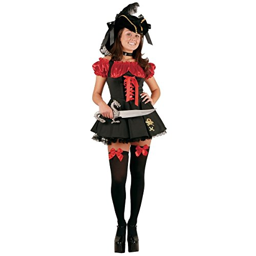 GSG Pirate Costume Teen/Tween Halloween Fancy Dress