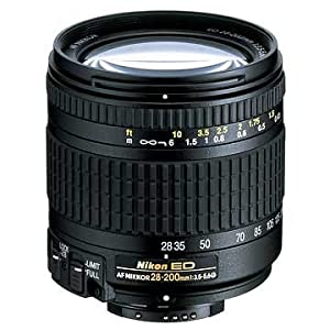 Nikon 28-200mm f/3.5-5.6G ED IF Autofocus Nikkor Zoom Lens