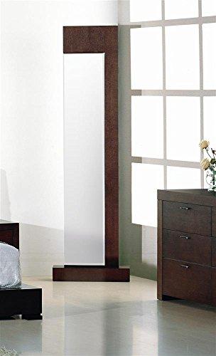 Traxler Standing Mirror In Walnut front-200035