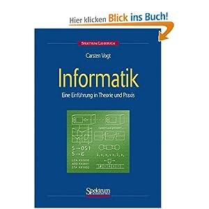 eBook Cover für  Informatik Eine Einf uuml hrung in Theorie und Praxis