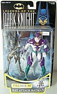 Batman: Legends of the Dark Knight Bat Attack Batman Action Figure - 1