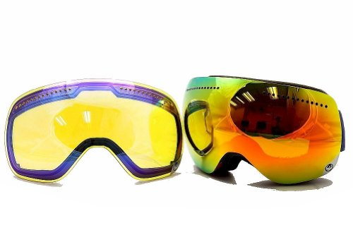Dragon Alliance APX Snow Goggles, Team Spirit, Red Ionized