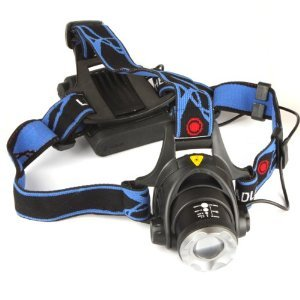 Intsun® 1200lm Cree Xm-l T6 Led Zoomable Headlamp Adjust Focus Headlight