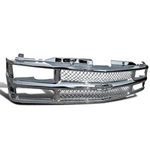 Chevy Chevrolet C10 Ck 1500/2500/3500 Chrome Mesh Front Grill Tahoe