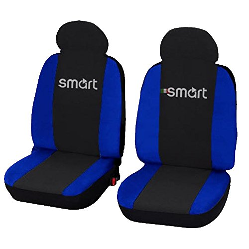 Lupex Shop smart.013_B.b Coprisedili, Cotone, Blu, Set di 6