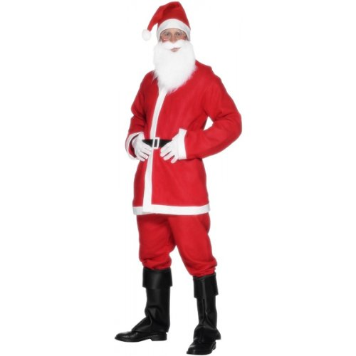 Economy Santa Suit Costume - Large - Chest Size 42-44