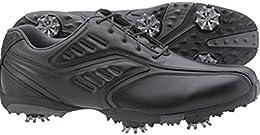 FootJoy Men s FJ Street Inlay Golf Shoes 56485 Black Charcoal Close out