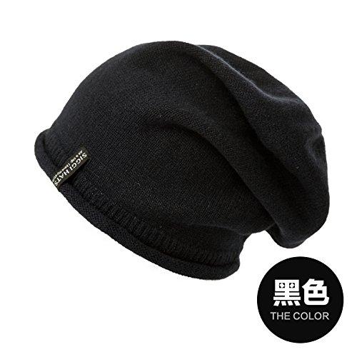 YangR*L'INVERNO HAT puro cashmere cappelli a maglia marea maglia elegante cappello caldo orecchio i tappi del kit di copertura , cappuccio di testa nera