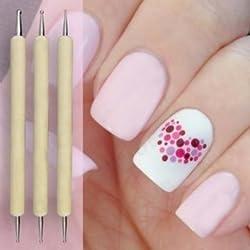 5pcs Nail Art Tip Dotting Pen Set Manicure Painting Kit Design 2-Way
