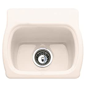 American Standard 7182.000.021 Chandler Americas Island Sink without Faucet Holes, Bone
