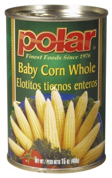 Whole Baby Sweet Corn