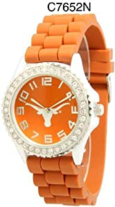 NCAA Officially Licensed Texas Longhorns Mens Gametime Round-faced Watch by Time World