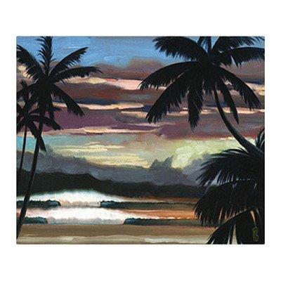 Art 4 Kids Hawaiian Sunset Canvas Art front-710502