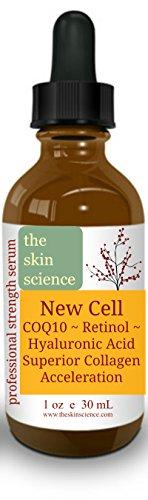 Retinol, COQ10, Hyaluronic Acid, SYN-Ake Collagen Boosting Serum